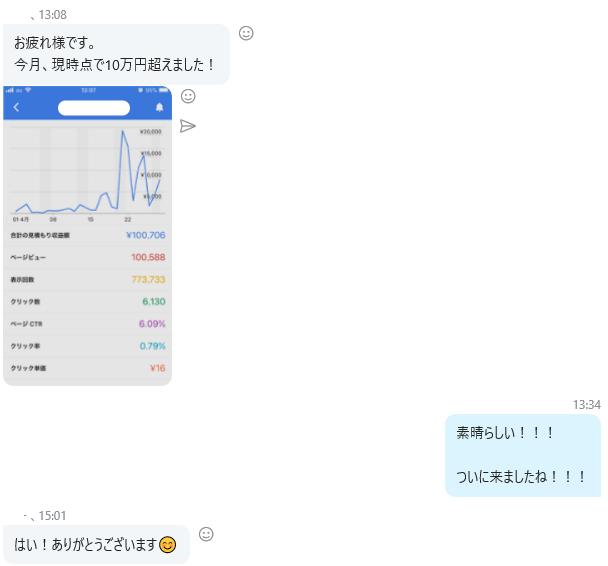 28 - アドセンスブログ半年で月収100万副業実践記【コンサル事例】